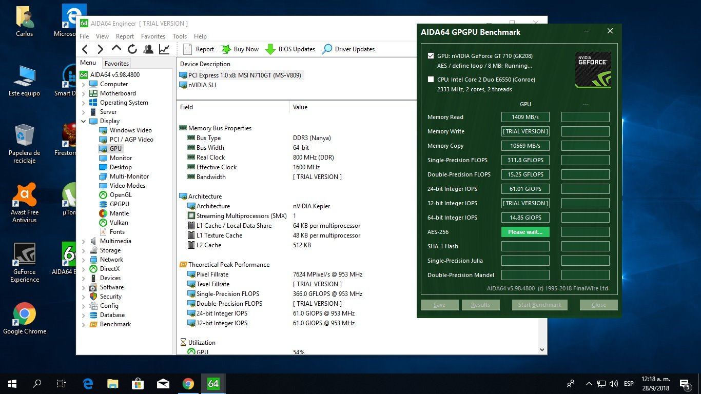 NVIDIA GT 710 Benchmark Question - Benchmarking, system performance