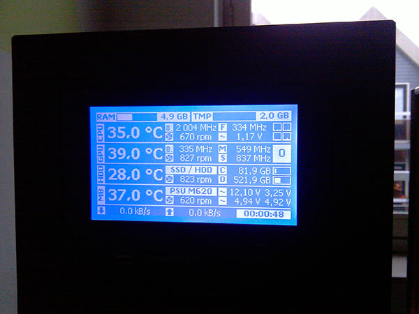 Pc Hardware Temp Monitor
